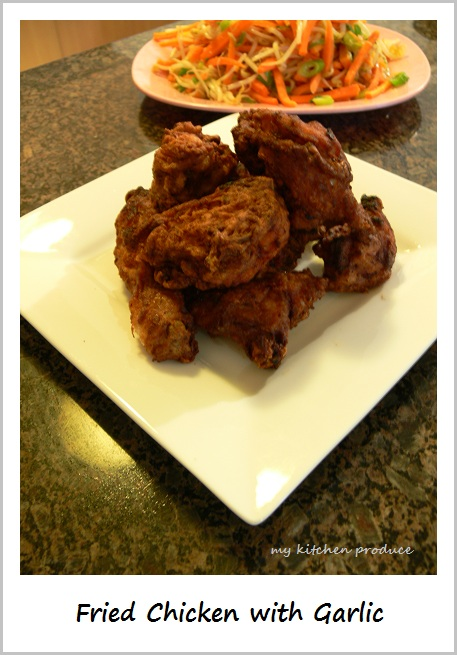 Fried Chicken with Garlic