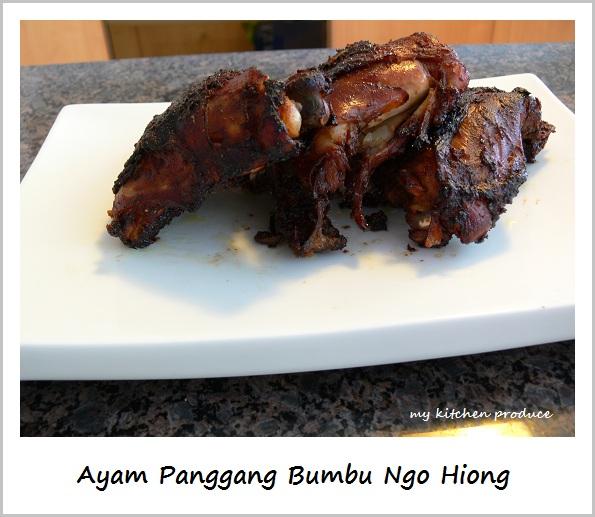 Ayam Panggang Bumbu Ngo Hiong