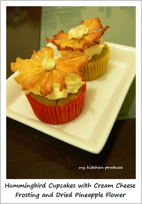 Hummingbird Cupcakes With Pineapple Almond Butter Cream Cheese ...
